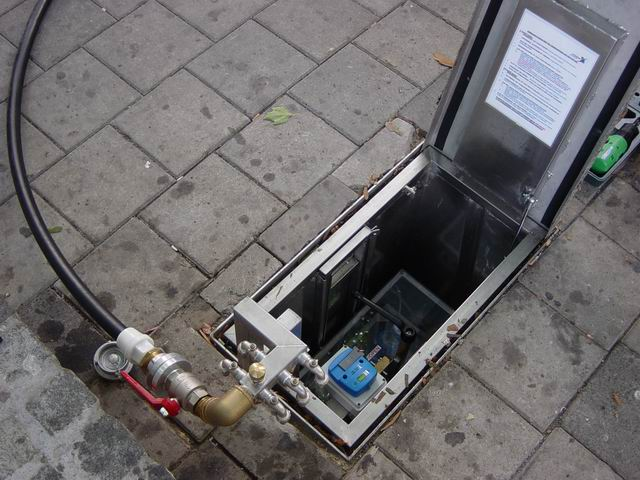 Below Surface Water Dispensor